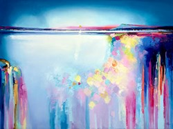 Crisp Start by Anna Gammans - Original Painting on Stretched Canvas sized 40x30 inches. Available from Whitewall Galleries